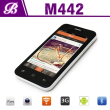 China 4inch  WVGA 800*480 TN 256MB 4G Front Camera  0.3MP Rear Camera 2.0MP Dual Core Intel Smart Phone MD442 factory