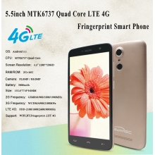 5.5inch MTK6737 Quad Core 2GB 16GB Support 4G LTE Fingerprint Smart Phone PH55016