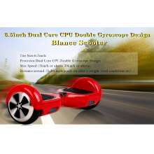 China 6.5inch Dual Core CPU Duplo giroscópio New Design Equilíbrio Scooter fábrica