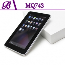 China 7 inch Battery 2400 mAh 800 * 480 VGA 1G + 4G Front Camera 0.3MP Rear Camera 2.0MP Tablet PC China Supplier MQ743 factory