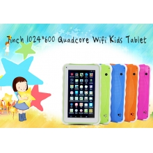 7inch 1024 * 600 Quad Core Wifi Kid Tablet RQ742