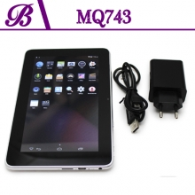 China 7inch Front Camera 0.3MP Rear Camera 2.0MP 1G + 4G Battery 2400 mAh 800 * 480 VGA Tablet PC China Supplier MQ743 factory