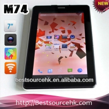 China 7inch Quad core tablet pc MTK8389 1G+8G with GPS Bluetooth Wifi HDMI  2G/3G IPS factory