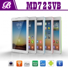 China 7inch MTK6572 dual core 512MB+4G 800*480 VGA tablet pc factory