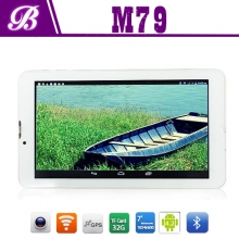China 7inch MTK8312 Dual core 1024-600 HD 512MB+4G with wifi BT GPS 3G tablet pc factory
