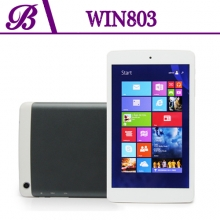 China 8 inch Front Camera 0.3MP Rear Camera 2.0MP 800 * 1280 IPS 1G + 16G Hot Sell Tablet PC Win803 factory