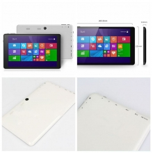 China 8 inch internet windows 1G+16G 800*1280 ips screen tablet pc factory