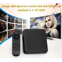 China Amlogic S812 Quad Core 2.0GHz 2GB 8GB HDMI 1.4B Android 4.4 TV BOX M8S fábrica