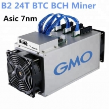 Fabbrica della Cina B2 GMO World's 7nm Bitcoin Miner 24T ASIC Mining Machine