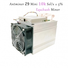 China Bitmain 10k Sol/s 300W Aisic Antminer Z9 Miner Machine-Fabrik