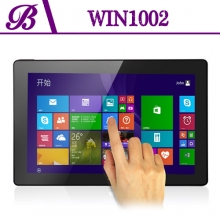 China China  Windows Tablet PC Solution Providers1280 * 800 IPS Front Camera 2.0MP Rear Camera 2.0MP 1G + 16G Win1002 factory