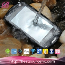 China Military Level IP68 waterproof A18 Rugged smartphone with 3G Bluetooth GPS WiFi Pass CE ROHS factory