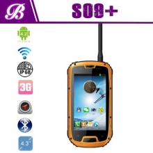 China PTT Quad core IP68 Military Standard S09 Rugged Smart Phone factory