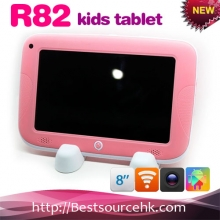 China R82 kid tablet pc Rockchip RK3168 Dual Core Cortex A9 7inch wifi HDMI factory