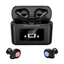 China TWS Bluetooth V5.0 Ears headset wireless charging  waterproof Bluetooth Earphone factory