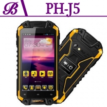 China J5 Rugged Waterproof Mobile Phone With 1G+16G 1280*720 GPS WIFI factory