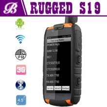 Chine Rugge smart phone S19 with NFC PTT usine