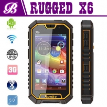 China Runbo X6 SmartPhone Rugged IP68 MTK6589T Quad Core Android 4.2  cell phone 5 Inch  13 MP Camera factory