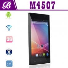 China 4.5inch MTK6582M Quad Core 1G 4G 960*540 with 3G GPS WIFI Bluetooth Android Smart Phone M4507 factory